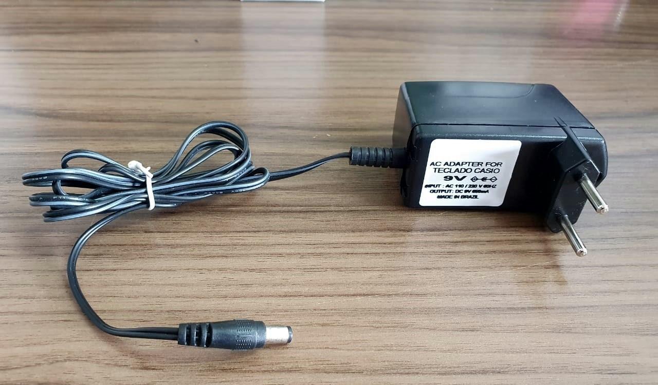 Fonte Starfont 09v 850A para Teclado Casio