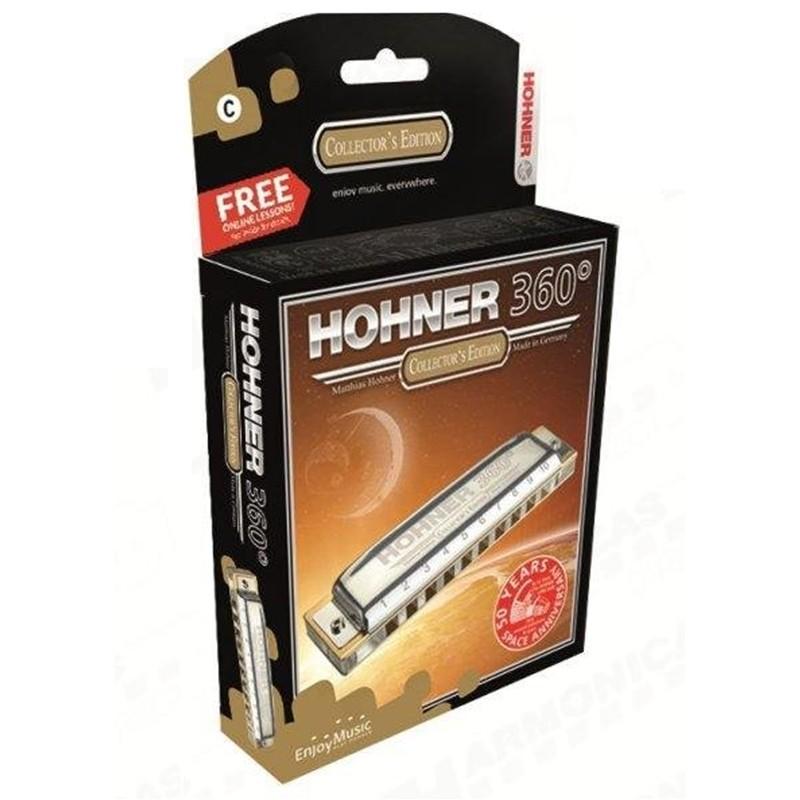 Gaita Hohner 360° Box C M55016