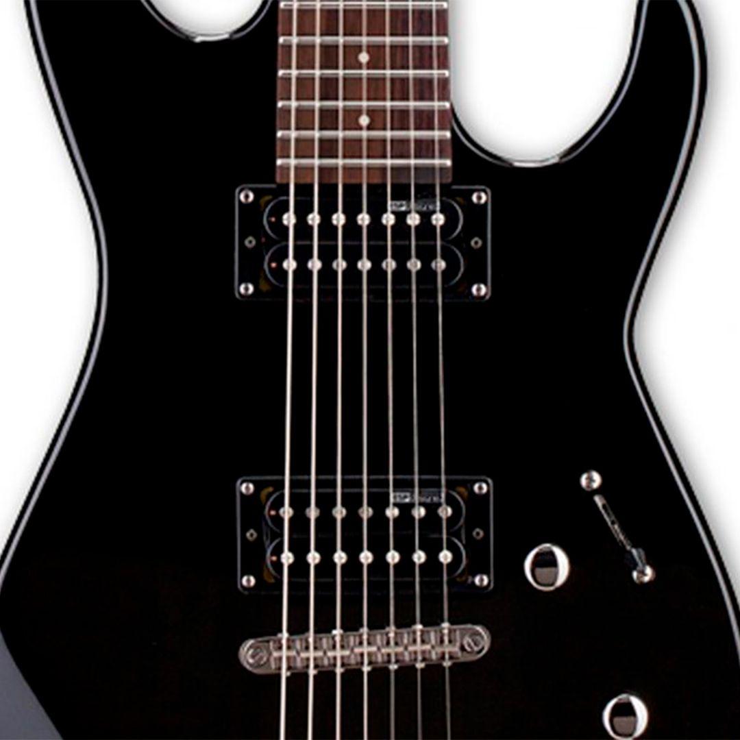 Guitarra 7 Cordas ESP LTD M-17 Preta