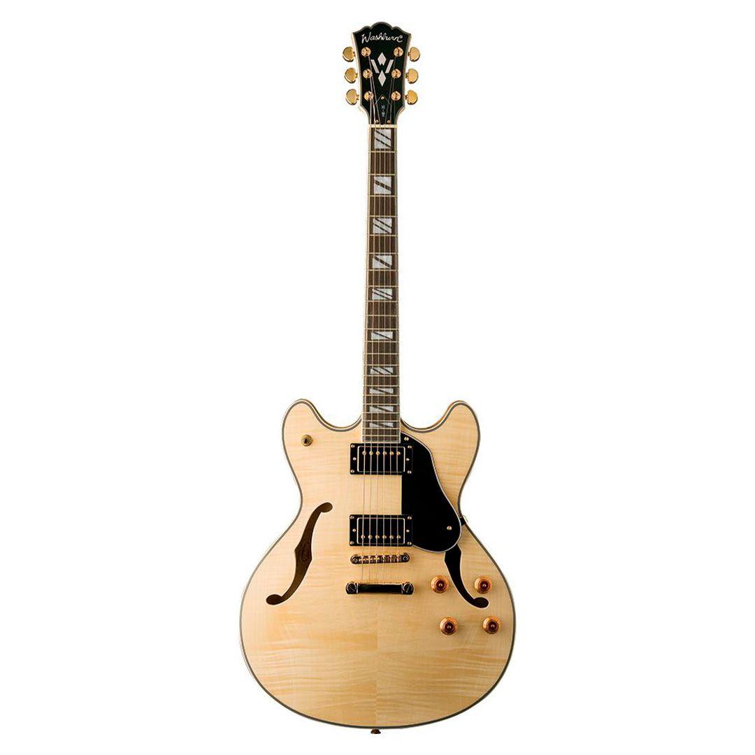 Guitarra Semi Acustica Washburn HB35N Com Case