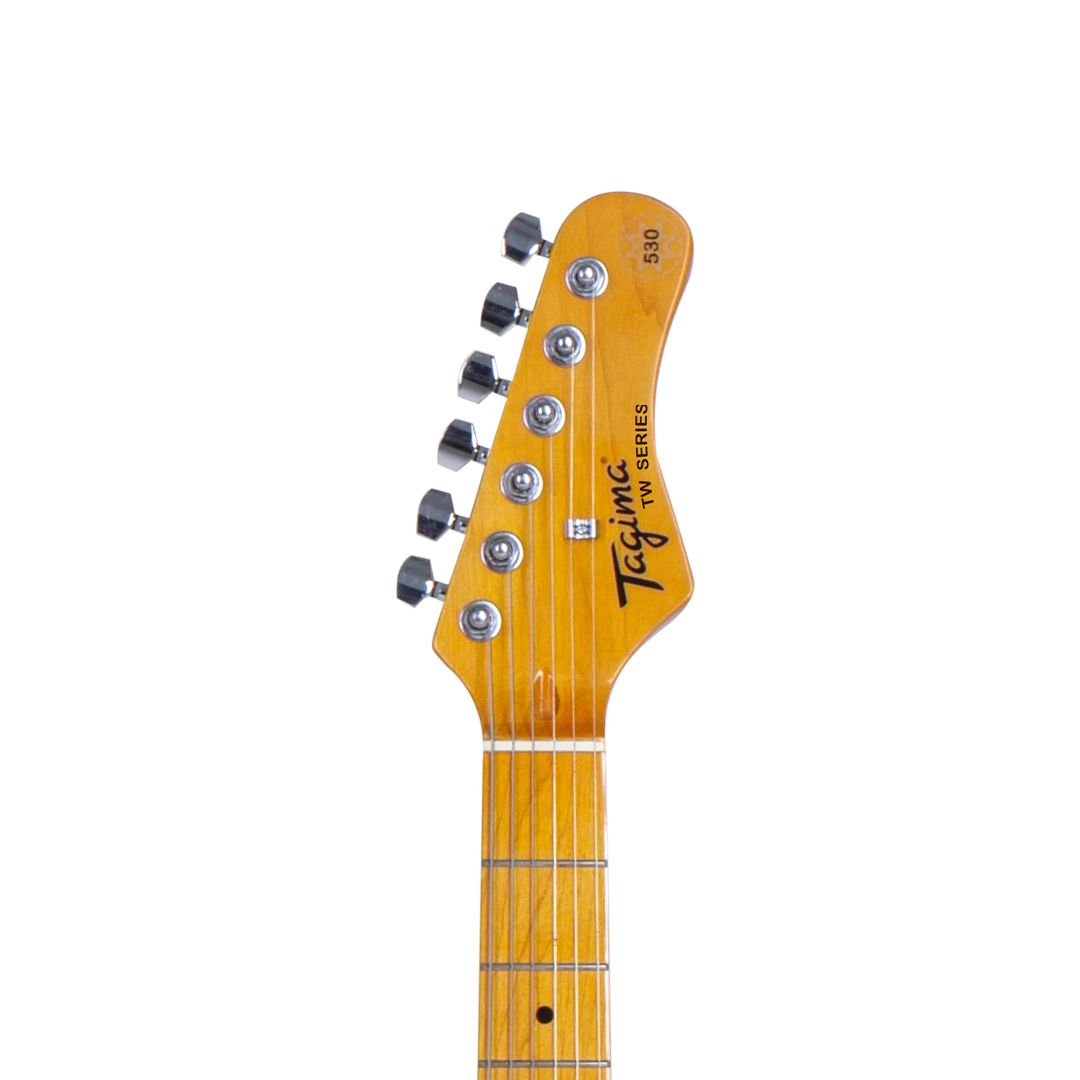 Guitarra Strato Tagima woodstock TG-530 Sunburst