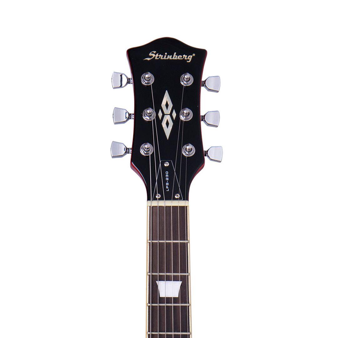Guitarra Strinberg Lps230 Cherry Burst Les Paul