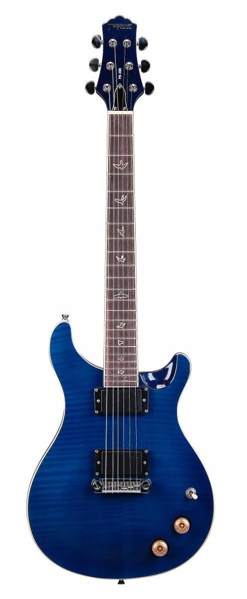 Guitarra Tagima Pr200 Azul Captação Humbucker Zebra Wilkinson