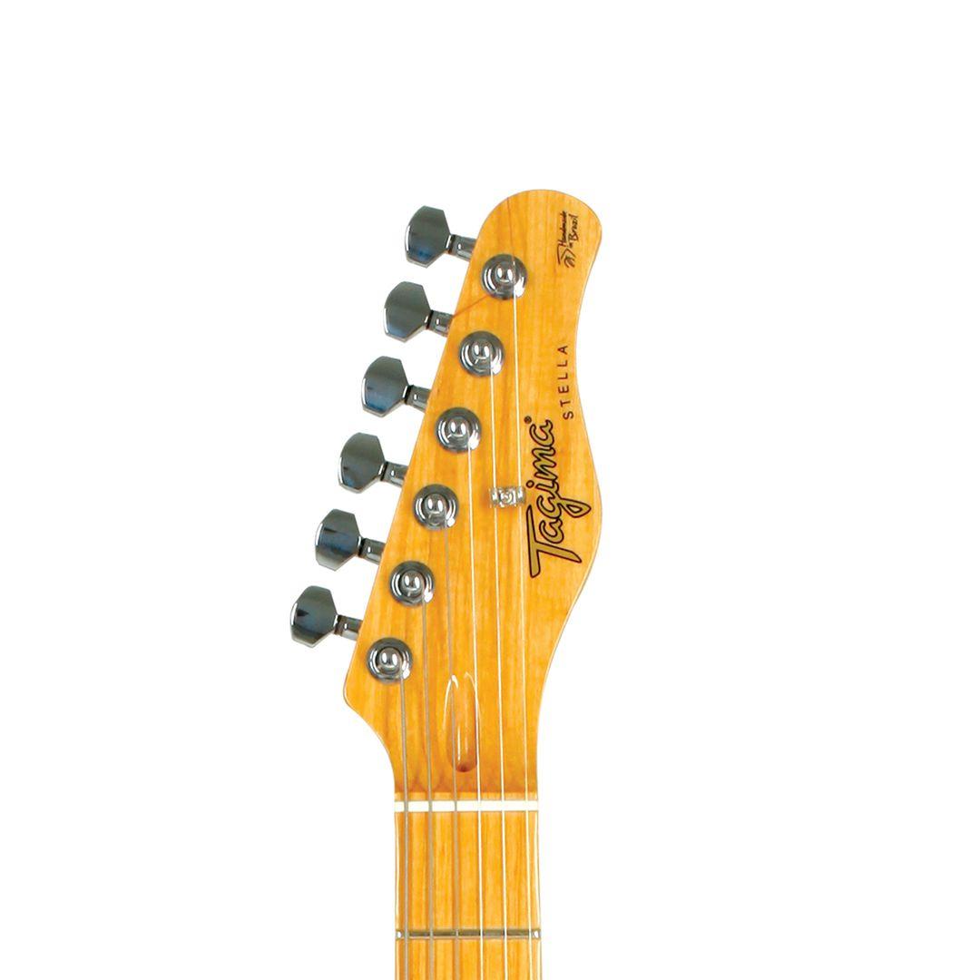 Guitarra Tagima Stella H3 Super Strato Autuum Fade Hand Made In Brasil