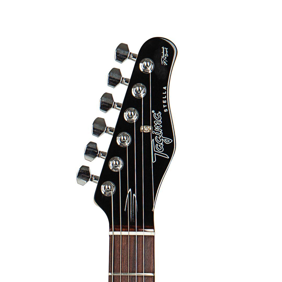 Guitarra Tagima Stella Stratocaster Preta Hand Made In Brasil