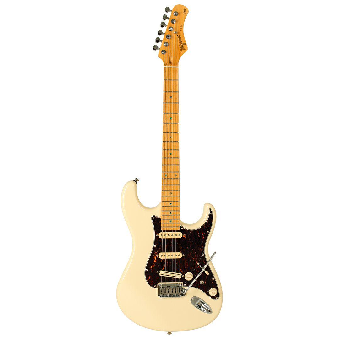 Guitarra Tagima Stratocaster T 805 Branco Vintage Hand Made In Brasil