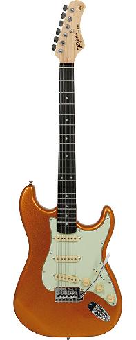 Guitarra Tagima Tg500 Metallic Gold Strato