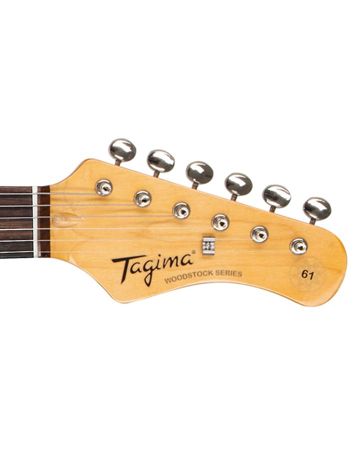 Guitarra Tagima Woodstock Jazzmaster Tw61 Fr Vermelha P90