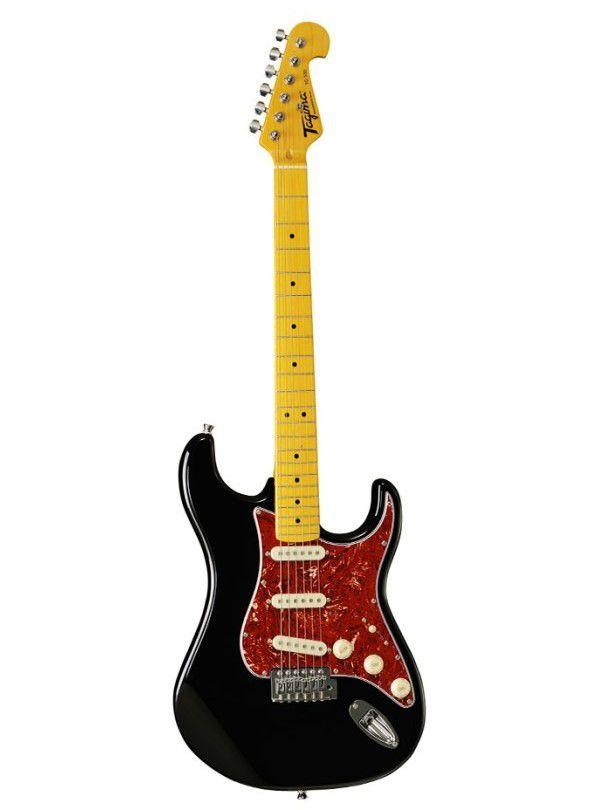 Guitarra Stratocaster Tagima Tg530 Preta Serie Woodstock