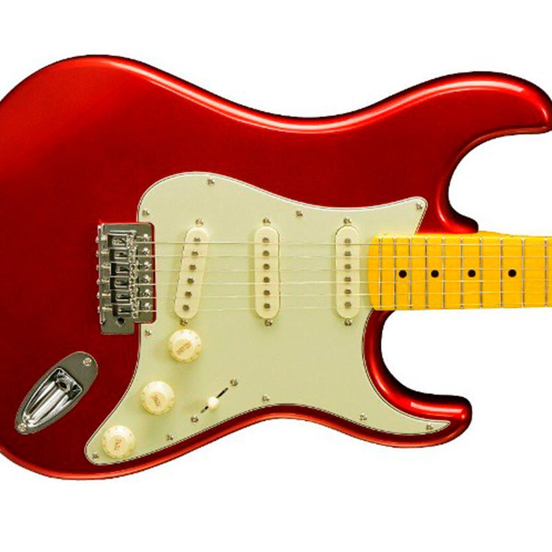 Guitarra Tagima Woodstock Tg530 Mr Stratocaster Vermelho Metálico