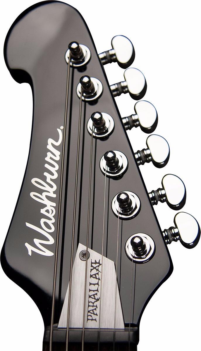 Guitarra Washburn Parallaxe PXZ200B Black Explorer