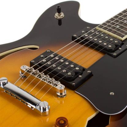 Guitarra Semi Acústica Washburn HB30 TS Sunburst