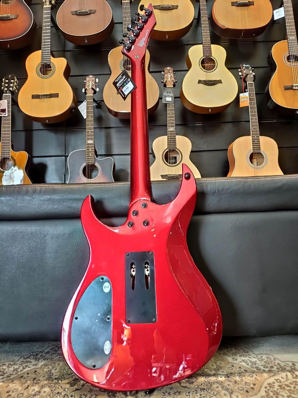 Guitarra Washburn Wm24vmr Vermelho Metalico Com Bag