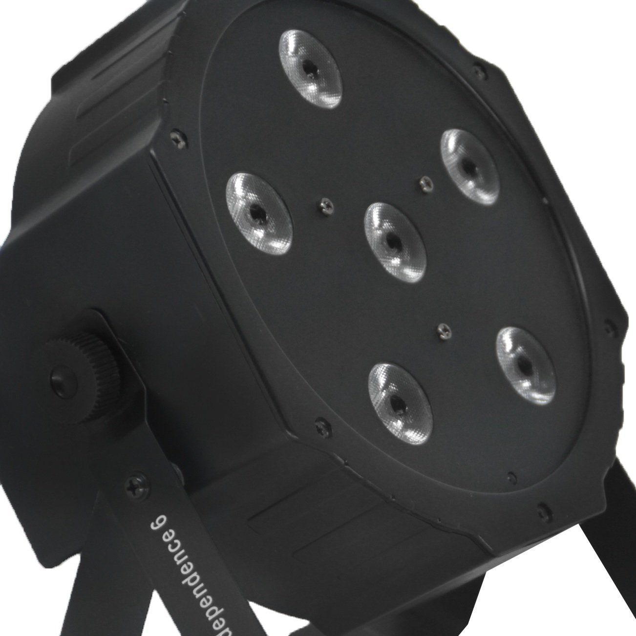 Independence 6 - PAR LED 6 X 10W - 4 EM 1 - PLS