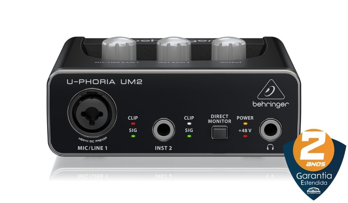 Interface Audio Behringer U-phoria Um2