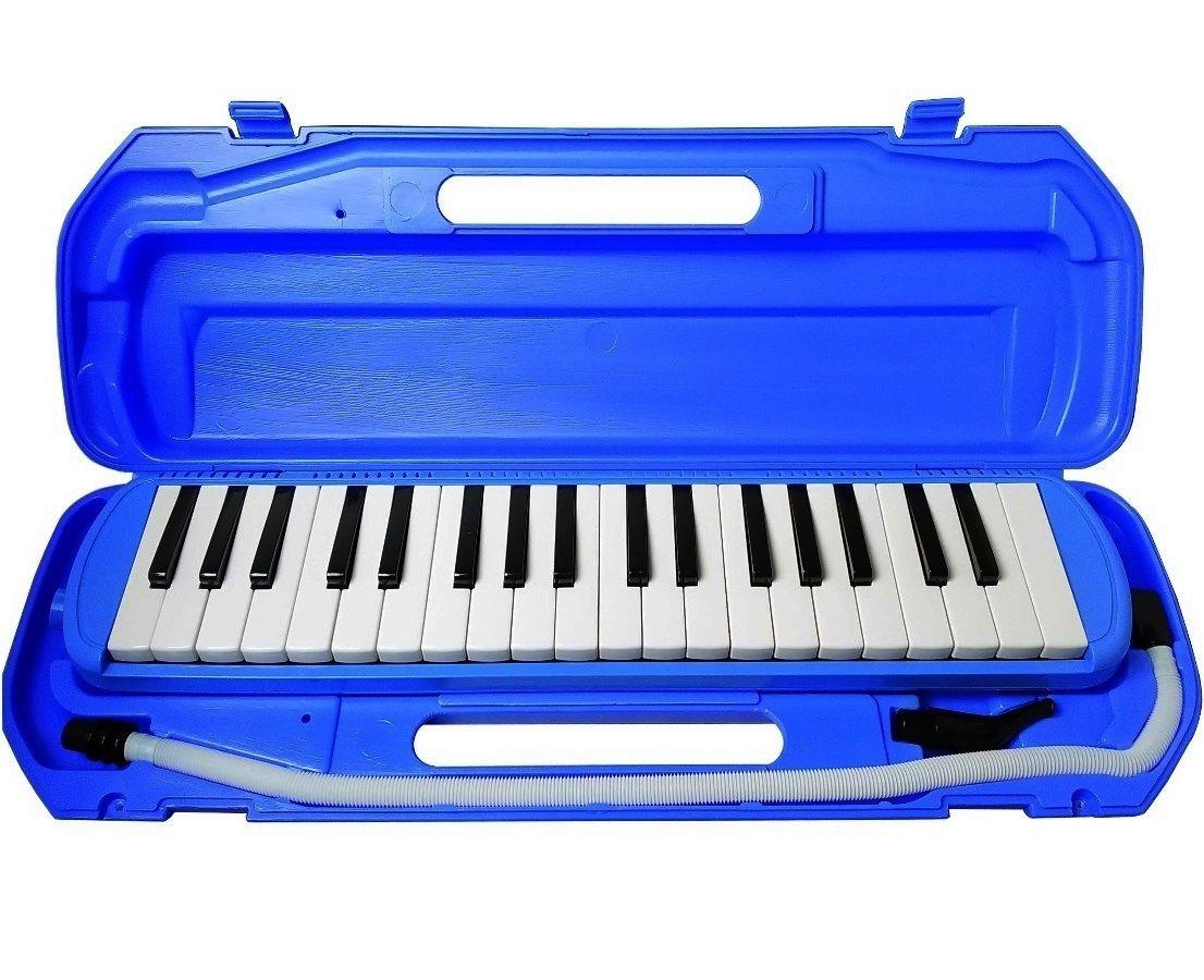 Kit 2 Escaletas Pianicas CSR 37 Teclas Azul
