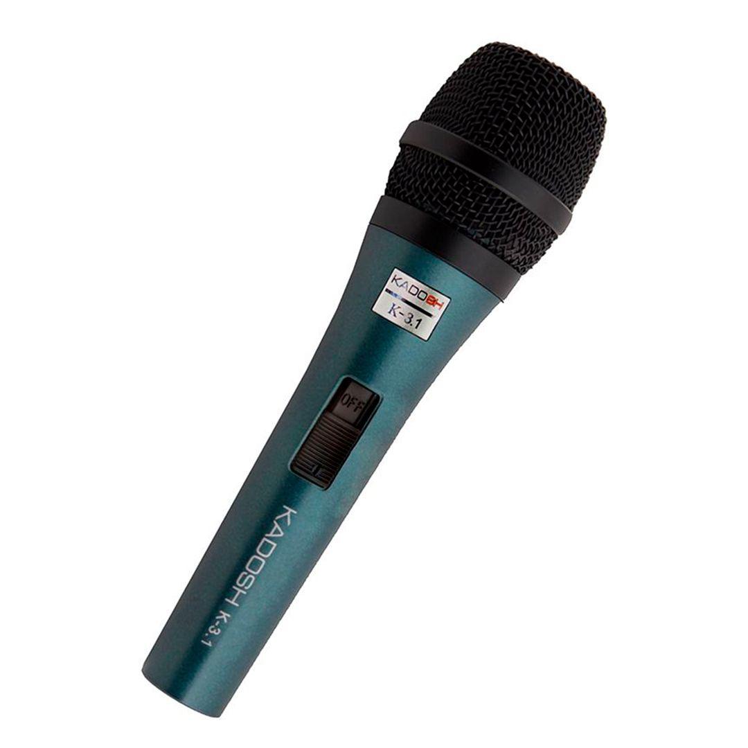 Kit  3 Microfone Profissional kadosh KDS K3.1 + Cachimbo + Case
