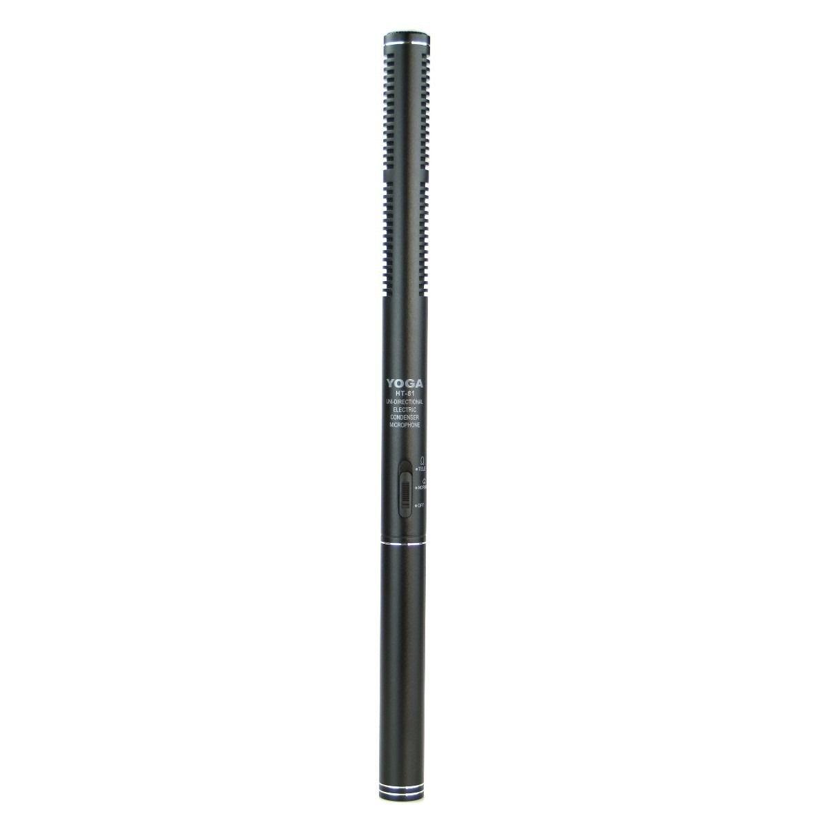 Kit 3 Microfone Shotgun CSR  Ht 81