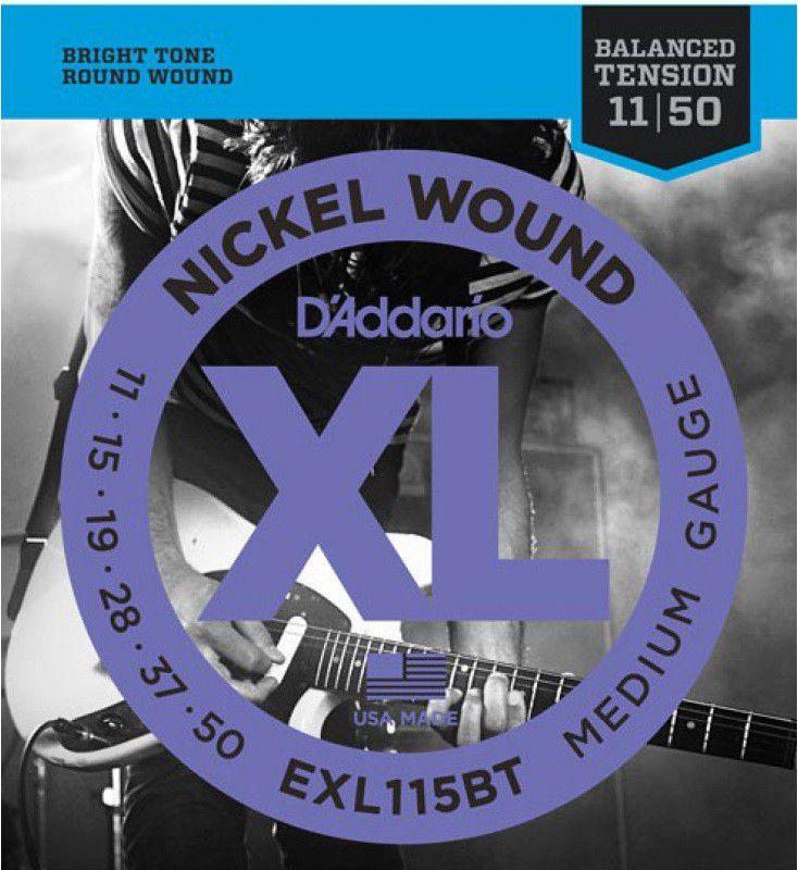 Kit 4 Encordoamentos Guitarra D'Addario EXL115BT 011