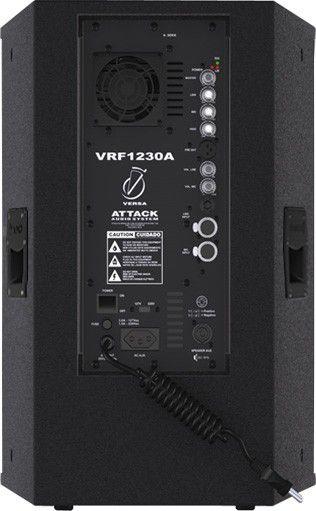Kit Caixa Ativa + Passiva 12 Polegadas Attack VRF