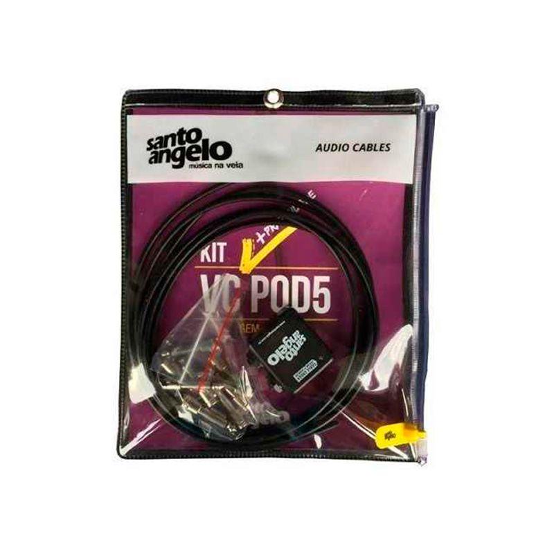 Kit De Cabos Santo Angelo VcPod5 S/ Solda
