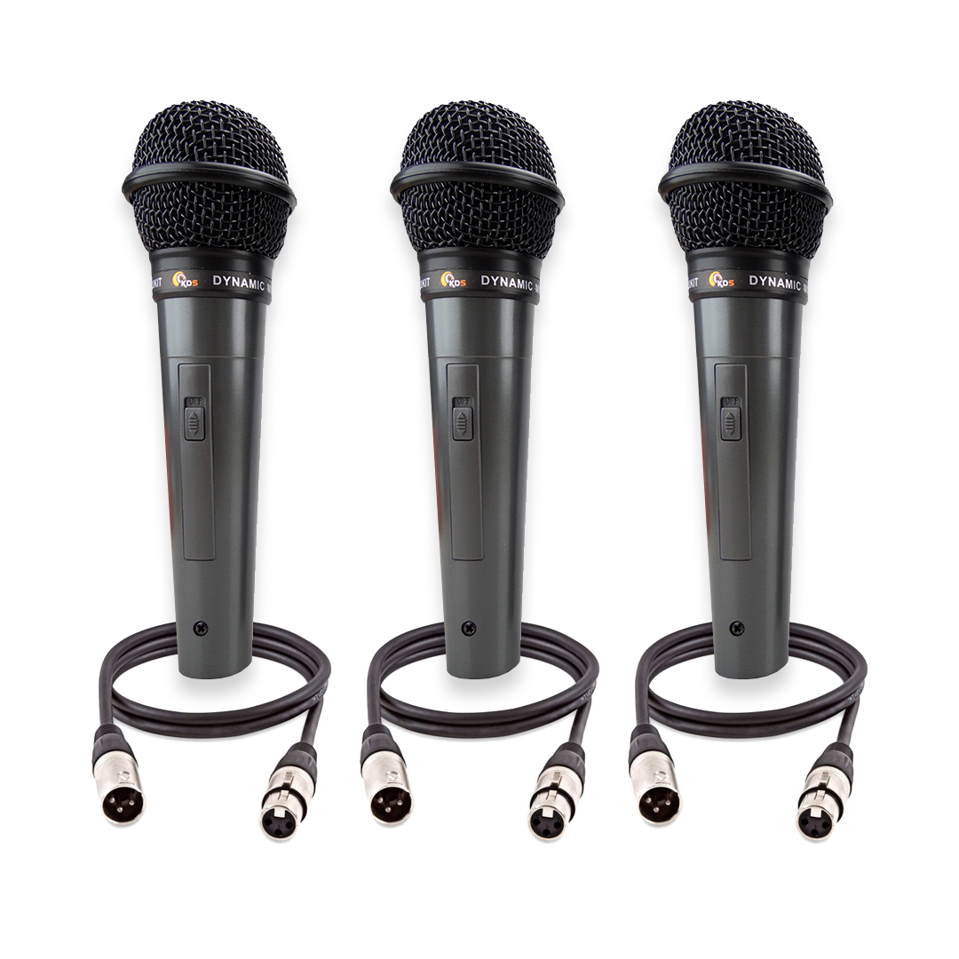 Kit Microfone Profissional Kadosh Kds-300
