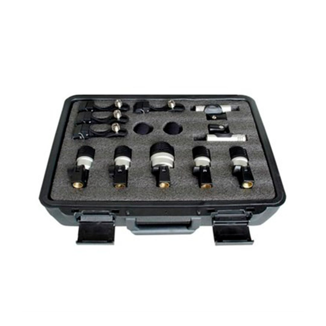 Kit Microfones Para Bateria YOGA MXDS7 Com Case