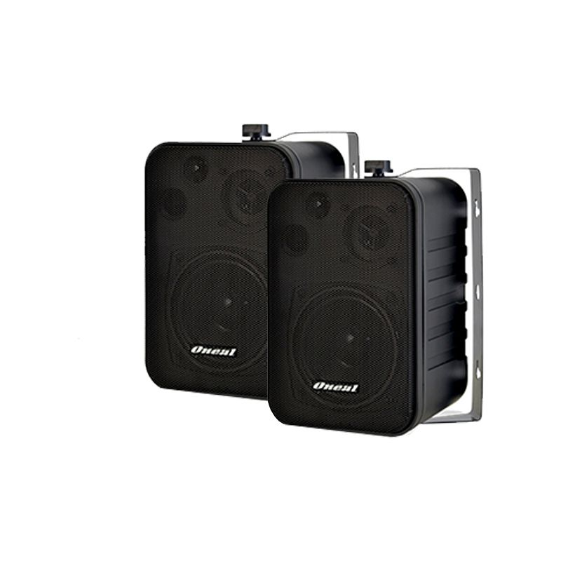 Kit Som Ambiente Oneal Amplificador OM2000EC 60w + 6 Caixas Oneal OB115 Preta