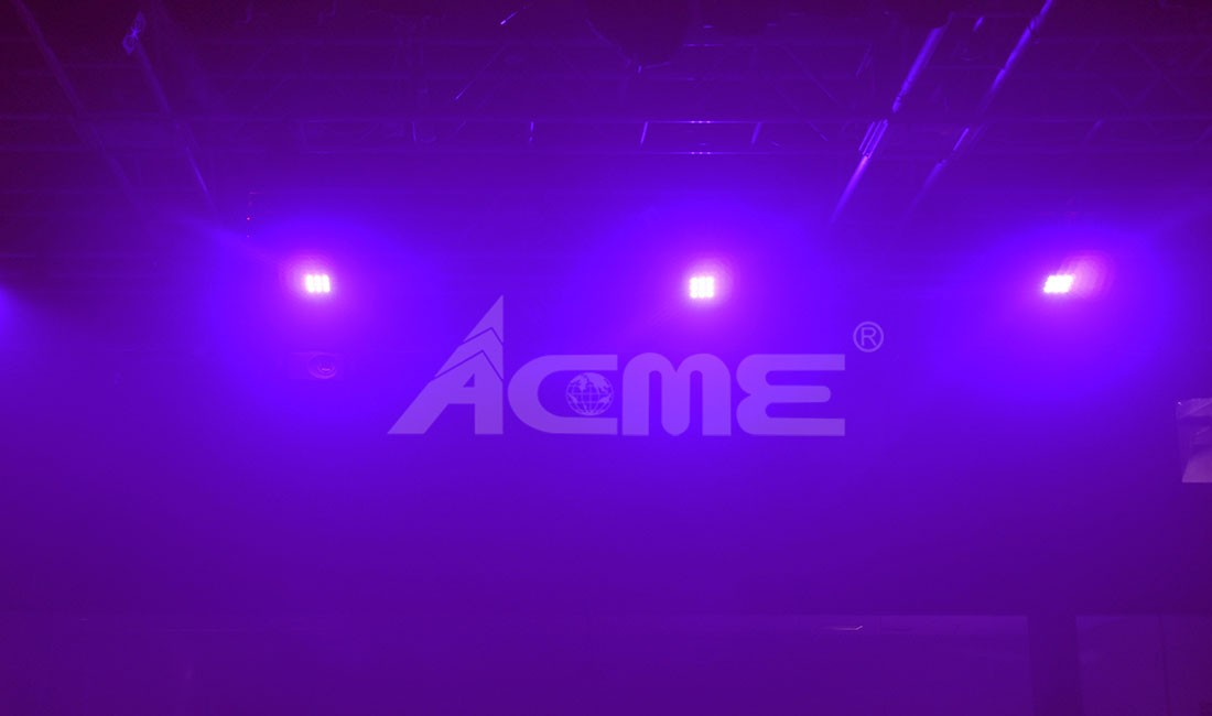 Luz Negra Led Acme UV-9N 9 Leds de 1W Ultravioleta