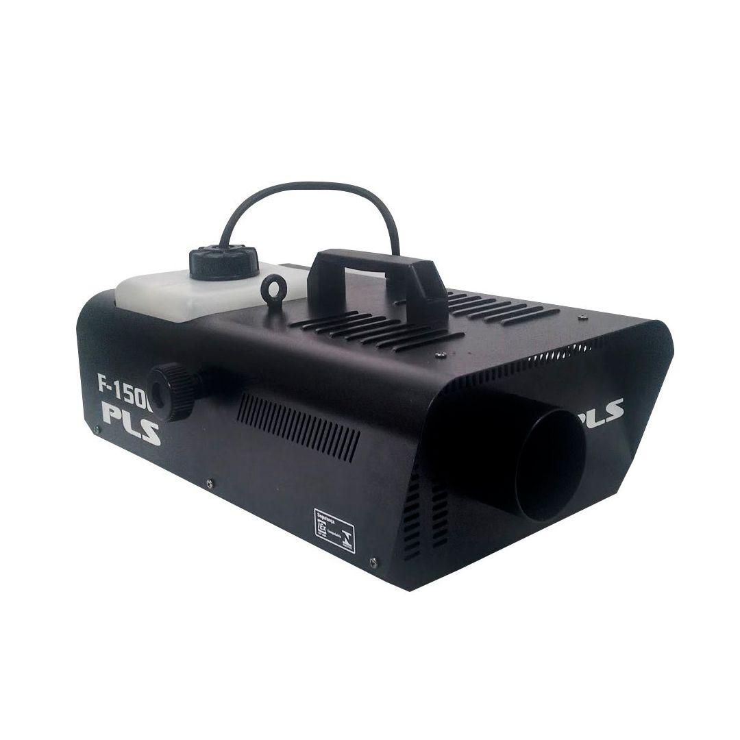 Maquina De Fumaça Pls F1500P 1450w Controle Sem Fio 110v 2 Anos Garantia