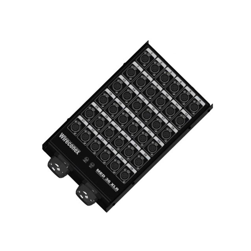 Medusa Wireconex 36 Vias 2 Saída C/ Conectores MED2 36 2SNCC