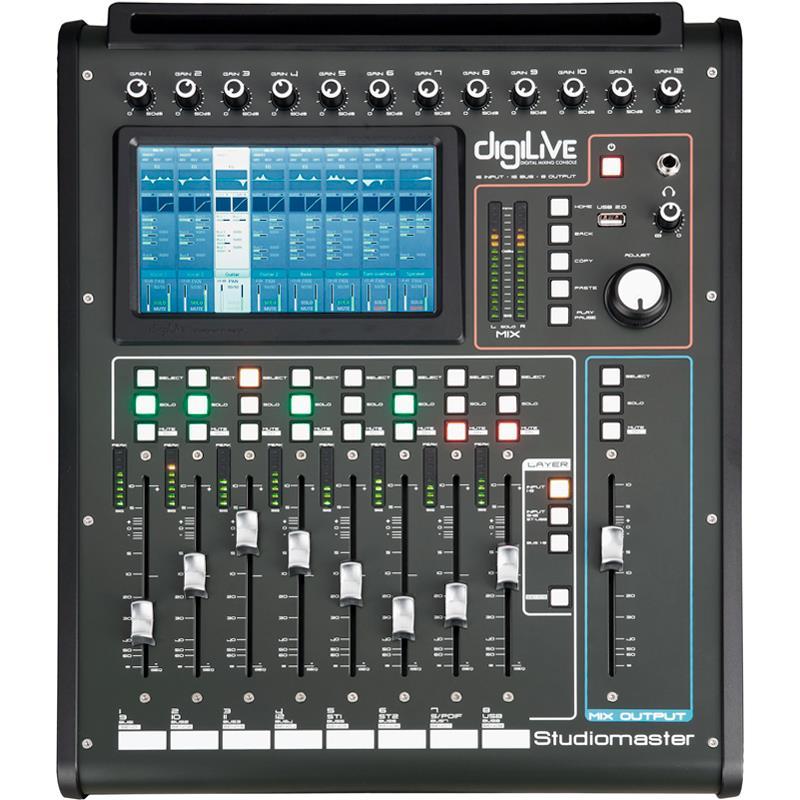 Mesa De Som Digital Studiomaster Digilive 16 Canais