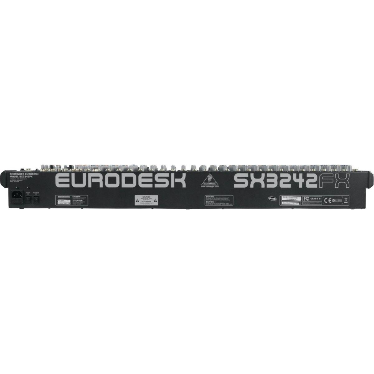 Mesa De Som Behringer Eurodesk Sx3242fx 32 Entradas C/ Efeitos