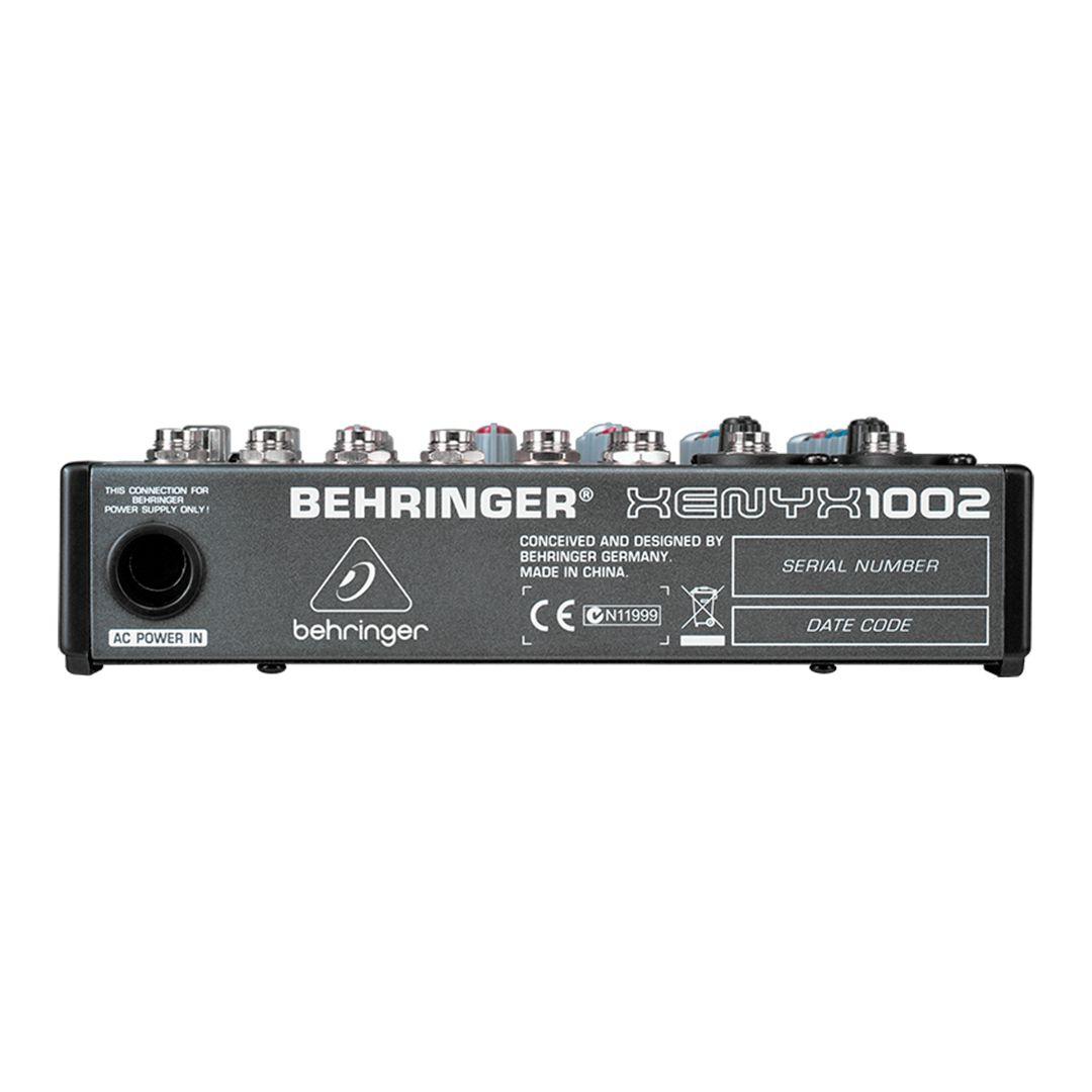 Mesa De Som Behringer Xenyx 1002 10 Canais 2 Anos Garantia