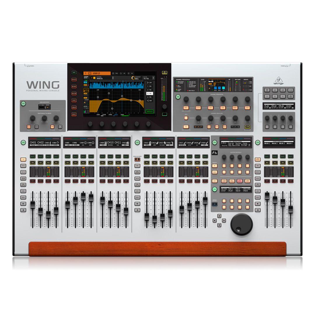 Mesa de som digital Behringer WING 48 canais