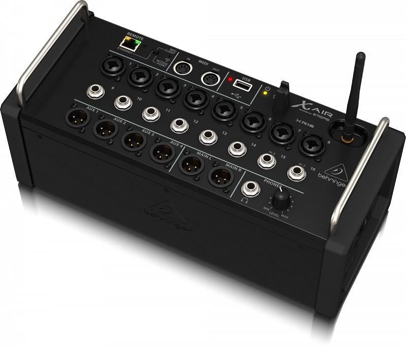 Mesa De Som Digital Behringer X Air XR16 16 Canais Mixer P/ RACK 2 Anos Garantia