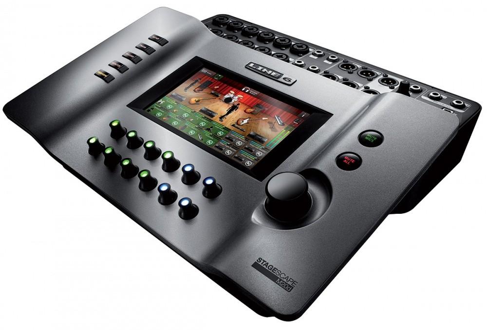 Mesa Digital Line 6 M20D Stagescape 16 Canais Com Tela LCD