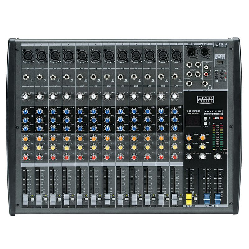 MESA MARK AUDIO CMX12 USB 12 CANAIS