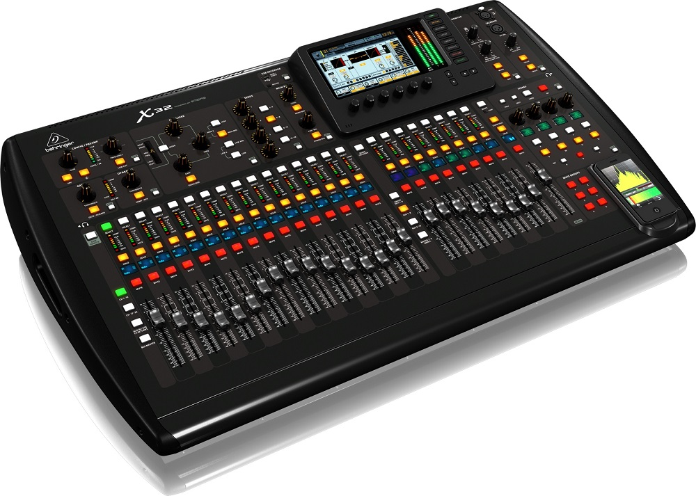 Mesa Som Digital Behringer X32 Full 32 Canais