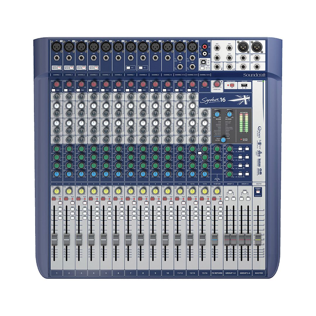 MESA SOUNDCRAFT SIGNATURE 16 CANAIS
