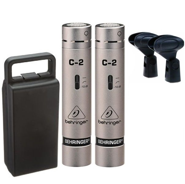 Microfone Behringer C2 Estudio Condensador Para Instrumentos, Voz, Coral