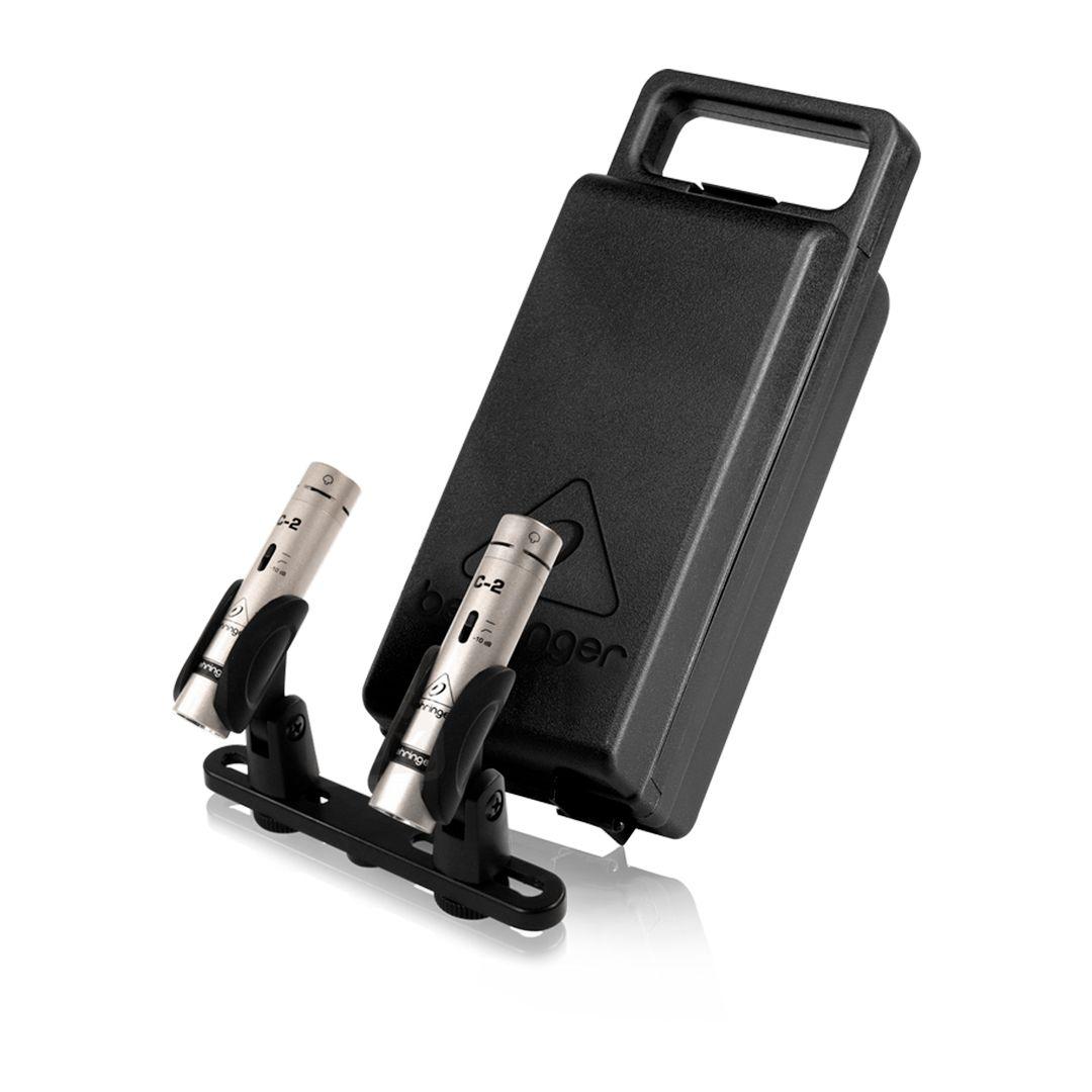 Microfone Condensador Behringer C2 Estudio ( Par ) 2 Anos Garantia