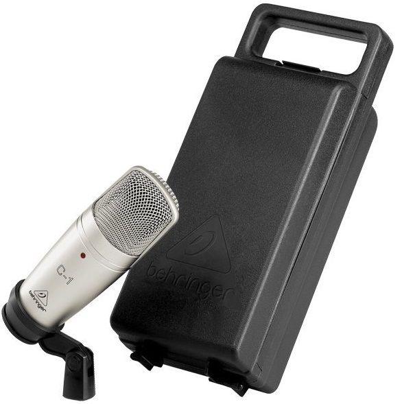 Microfone Condensador Behringer C1 Estúdio C/ Case