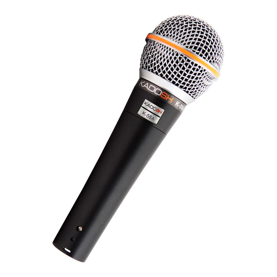 Microfone Dinâmico Profissional Kadosh KDS K58A
