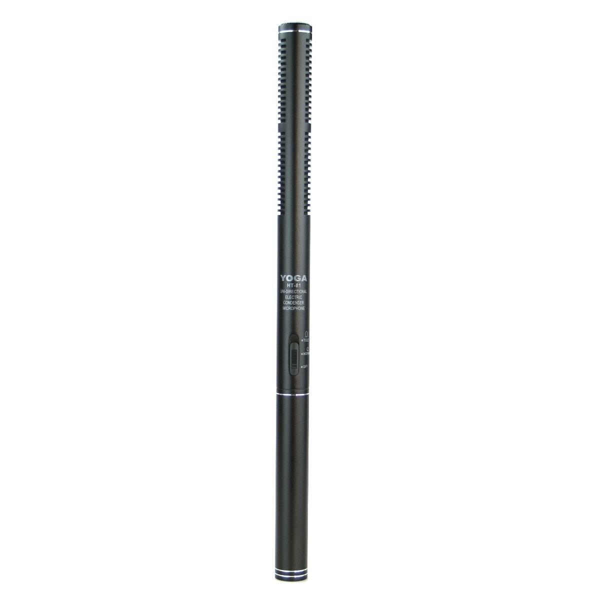 Microfone Direcional CSR Yoga HT 81 Shotgun
