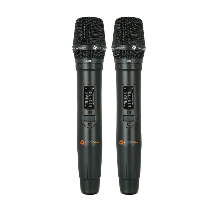 Microfone Duplo Sem Fio Digital Kadosh K502m
