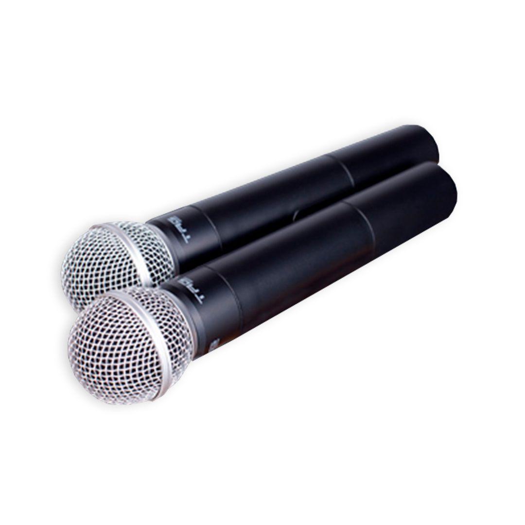 Microfone Duplo Sem Fio Tagima Tag Sound TM559B
