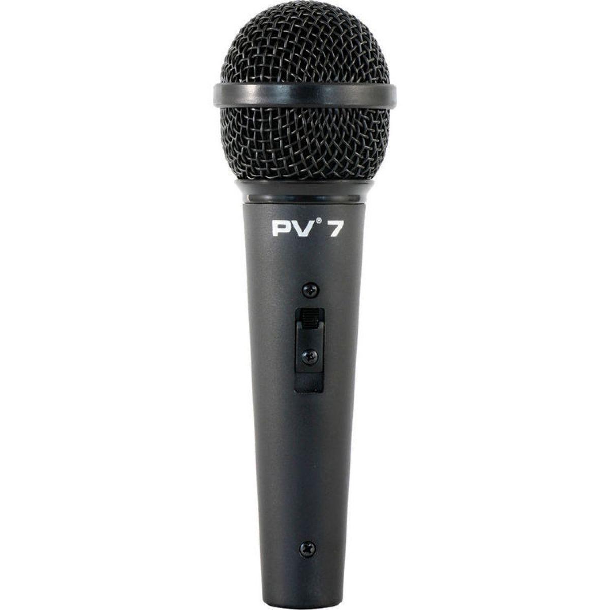 Microfone Profissional Peavey PV7 Com Cabo + Cachimbo