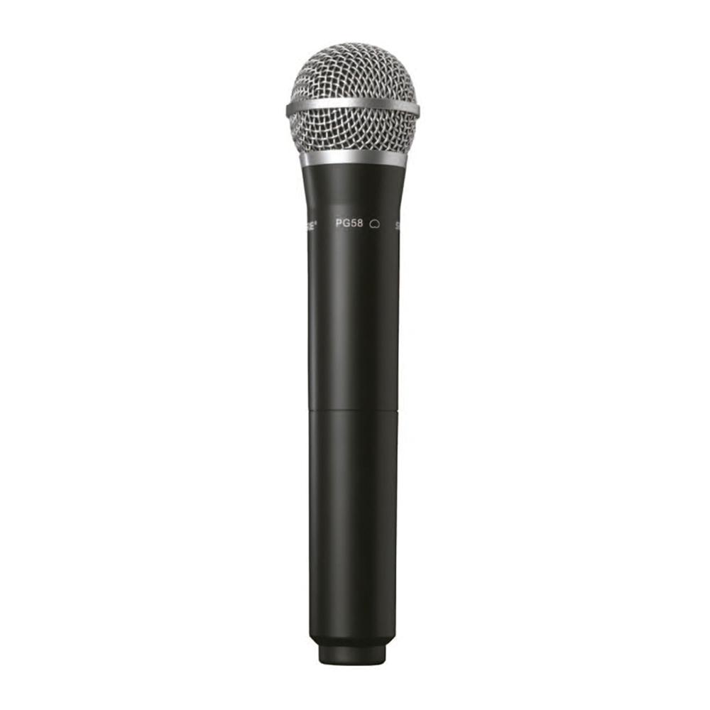 Microfone Sem Fio Shure SVX24 BR PG58 De Mão
