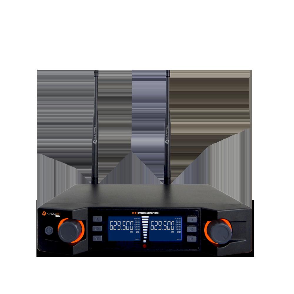 Microfone Sem Fio Digital Kadosh K-492C Duplo Bastão + Headset